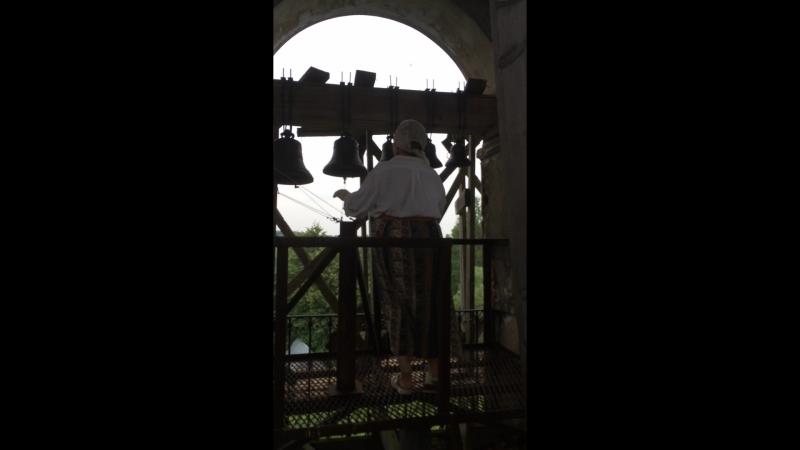 Колокольный звон в Филимоновской церкви