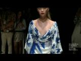 Maria Belokrylova at MELTEM ÖZBEK SS19 Mercedes Benz Fashion Week Istanbul