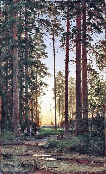 Картина «Уголок леса», 1879 год