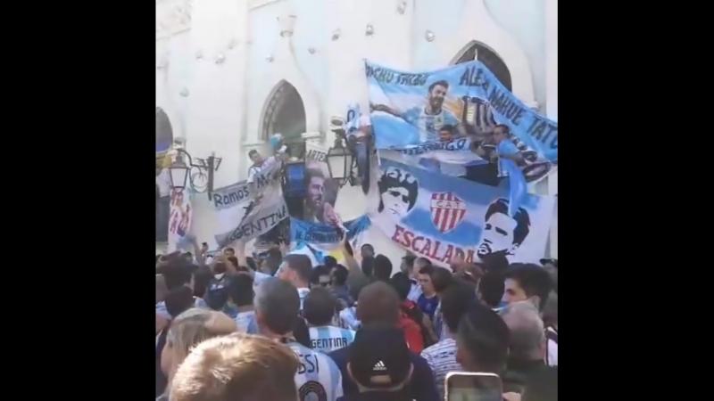 Fans of Argentina