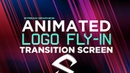 After Effects Tutorial: Animated Logo Fly-in Transition Screen