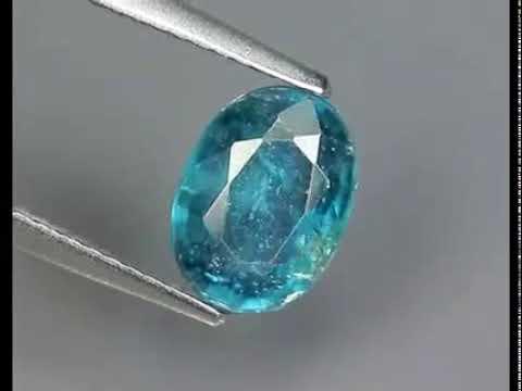 Камень кианит натуральный 1.98 карат Артикул: 22958 цена:1580 руб