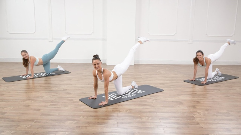 Megan Roup - Low-Impact Butt- and Abs-Toning Workout   Низкоударная тренировка для ягодиц и живота