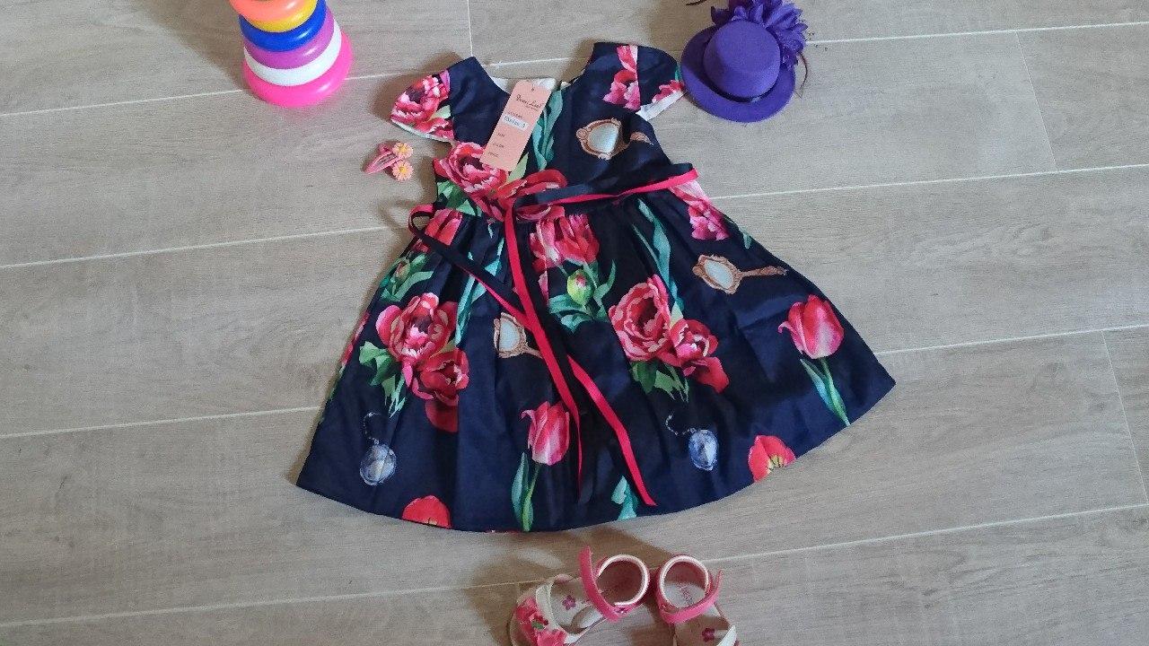 Пост о детском платье со всеми известного детского магазина Домилэнд