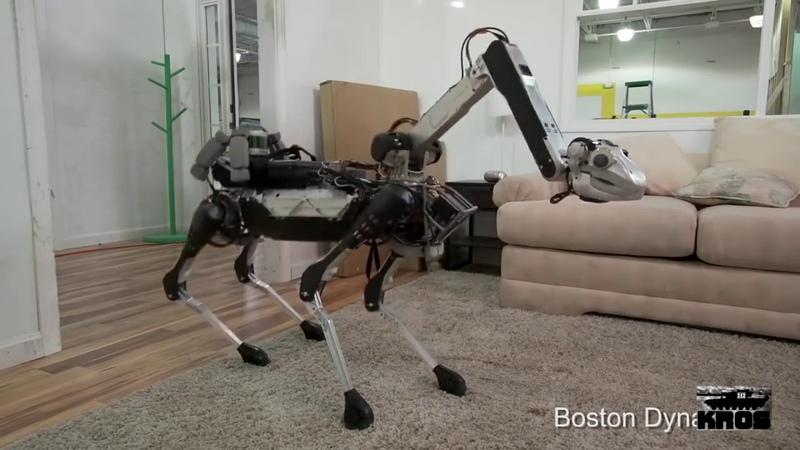 Восстание машин. Кожаные ублюдки №3. Роботы из BostonDynamics