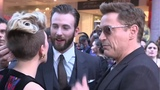 Chris Evans says Robert Downey Jr. is irreplaceable as Iron Man