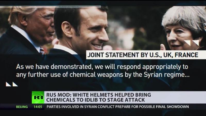 Syrien: Planen Terror-Helme einen inszenierten Chemiewaffenangriff