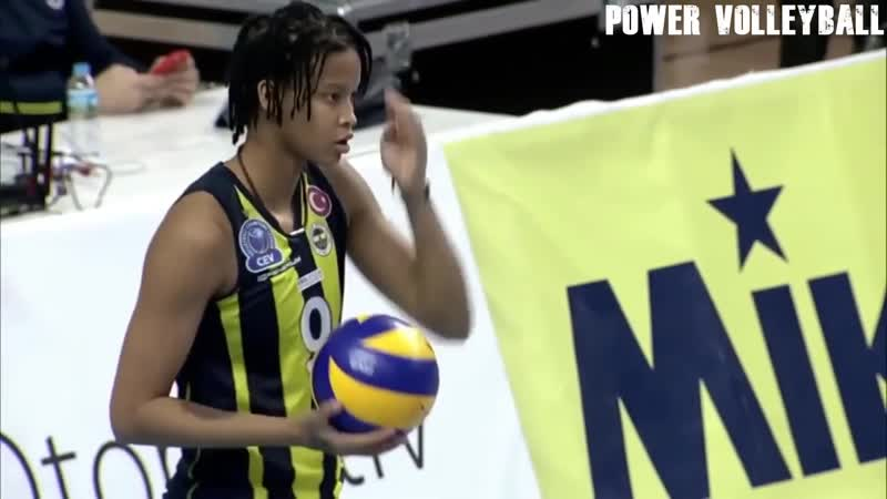 19 Years Old Melissa Vargas - Amazing Volleyball Player (HD)