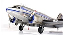 Douglas DC-3 trumpeter 1/48 Alaska Airlines - Aicraft Model