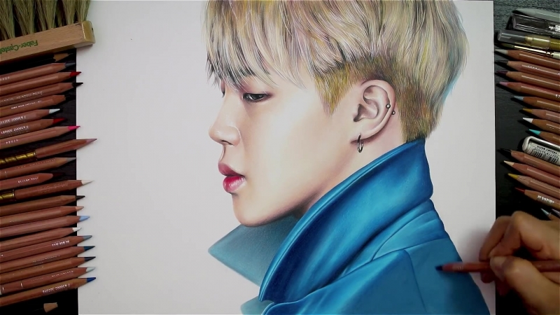 BTS - Jimin by Drawing Hands