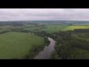 Павловское река Упа и старая церковь