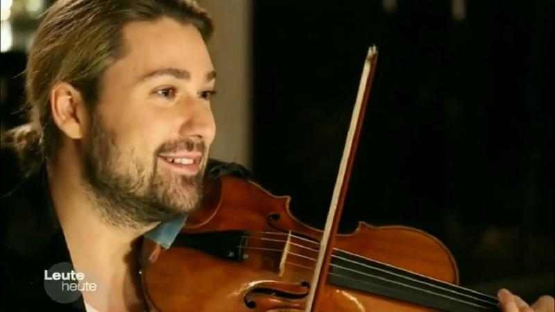 David Garrett spielt Weihnachtslieder