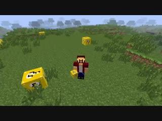 Обзор модов Minecraft # 31! Лотерея (Lucky block)