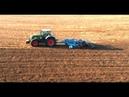 Обработка почвы под озимую пшеницу бороной Lemken Rubin 12