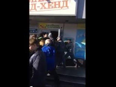 «ЕВРОПЕЙЦЫ» В УКРАИНЕ УСТРОИЛИ ДАВКУ ЗА СЕКОНД-ХЕНДОМ