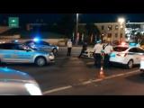 ФАН публикует видео ДТП в центре Москвы