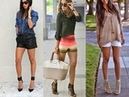 OUTFITS SHORTS Y TACONES