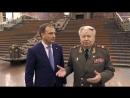 Генерал армии Виктор Федорович Ермаков и директор Музея Победы Александр Яковлевич Школьник