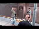 (EXCLUSIVE) BTS Arriving at IHeart Radio for A Concert in NYC 052119