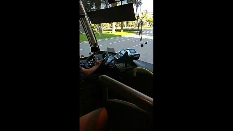 оплата автобуса дорога порт Авентура
