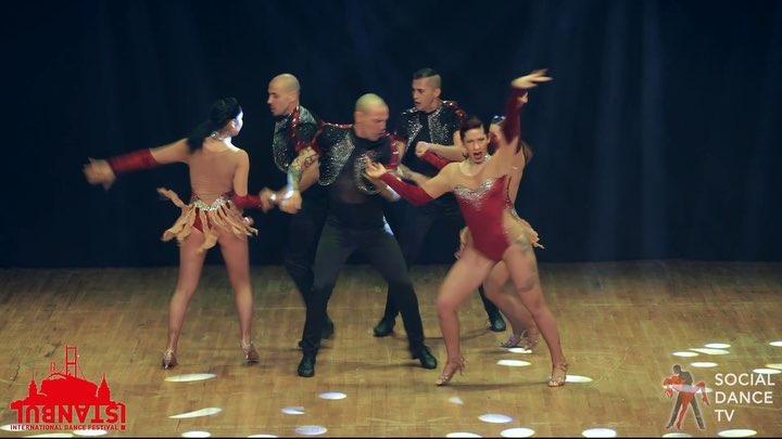 """Social Dance TV on Instagram: """"Amazing show! 💥 Dancers: Tropical Gem (@fernandososa_tropicalgem @tatiana_bonaguro_tropicalgem @vincenzo.fummo01tg ..."""