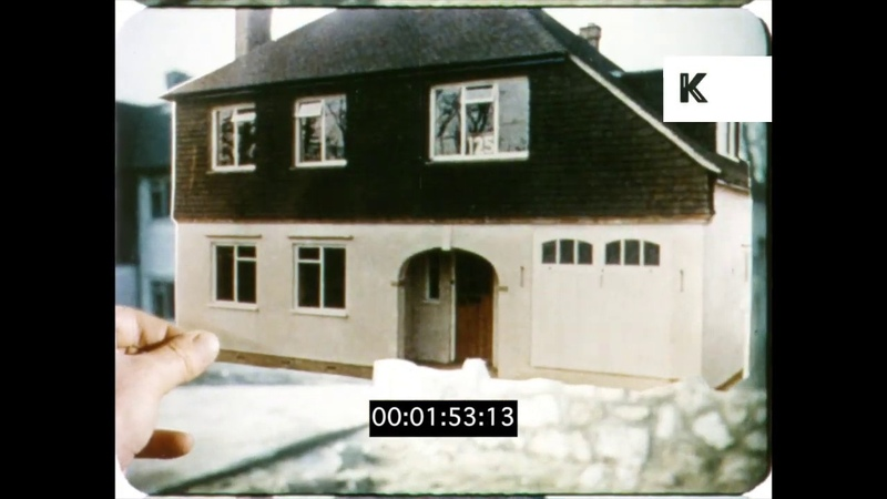 1960s London Housing, Suburban Streets, HD from 16mm
