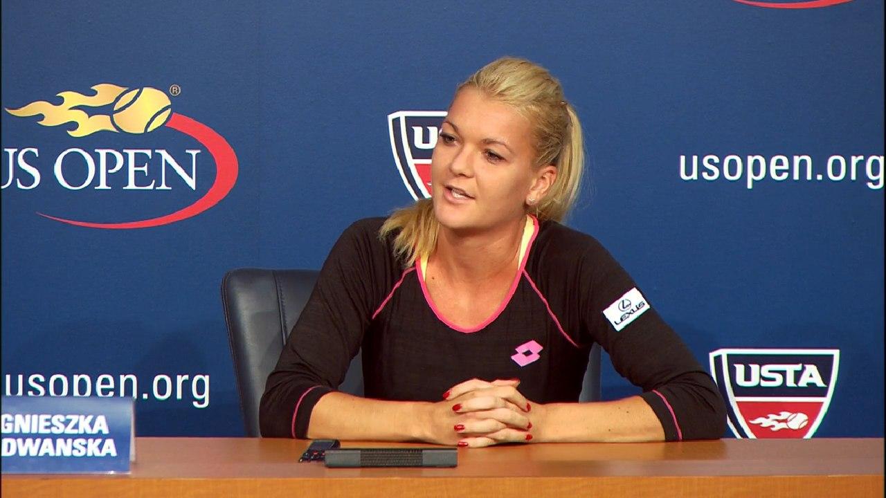 Агнешка Радванска на US Open