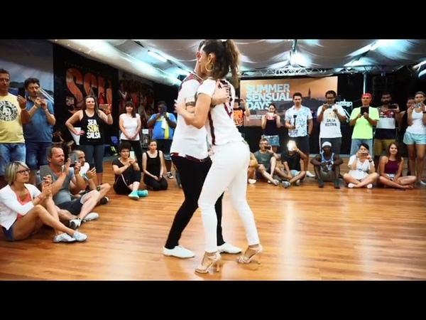 Our Semba Bonifácio Aurio and Laura Humba Vou Lhe Dar DANCER S Ricardo Sousa Paula Loureiro