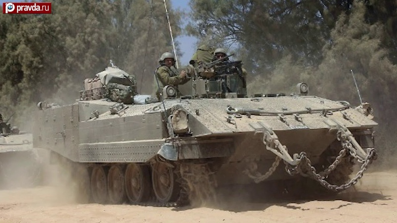 Achzarit Israel's humane armored personnel carrier