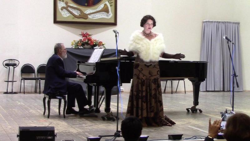И.Кальман. Ария Одетты из оперетты Баядера. Исполняет Алина Фарафонова.