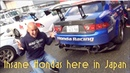 This is what M M Honda Racing in Japan looks like