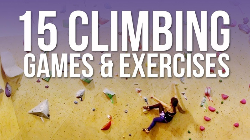 15 Climbing Games Exercises to Help You Improve!