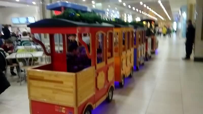 Катаемся на паравозике