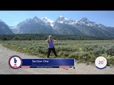 3 of 50 Teton's MARCH Across America (shortened version) Walk at Home Jenny Ford Cardio Workout