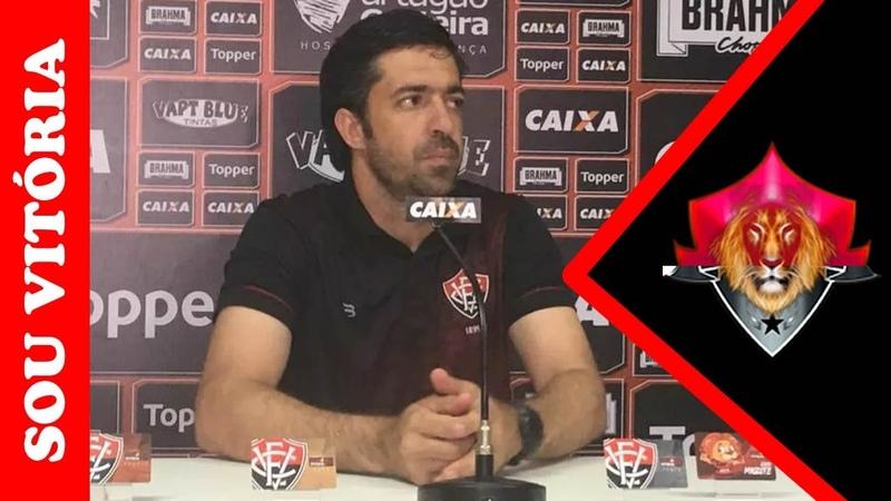 Confira a coletiva de João Burse após empate com o Grêmio