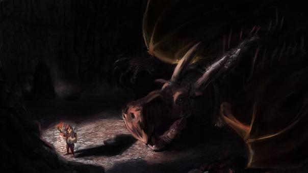 Не подходи! испуганно закричала Принцесса. Зачем оно меня нюхает Хочет меня съесть Он, поправил Дракон, погладив Тролля по голове. Одуванчик не такой, он не ест Принцесс. Правда жеТролль, мило
