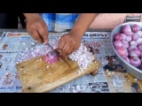 Индус режет лук быстрее чем блендер