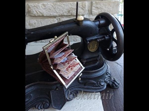 Мастер-класс Визитница с фермуаром (Cardholder)