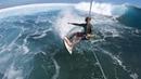 Keahi de Aboitiz takes on Cloudbreak Fiji Cabrinha Kitesurfing