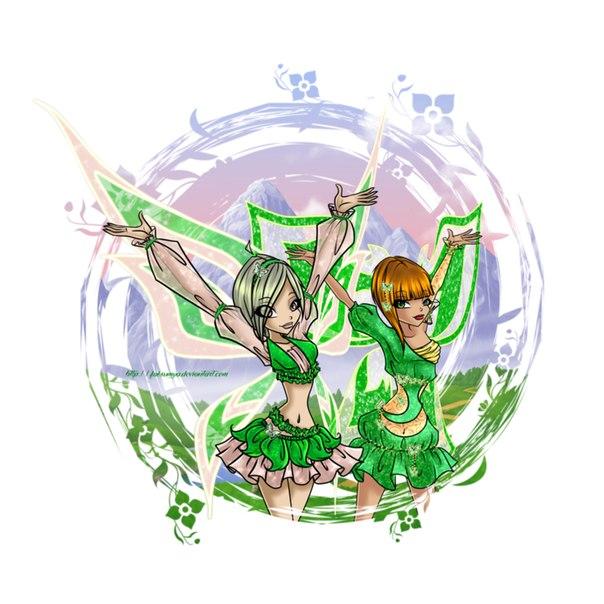 Феи винкс картинки и игра одень цветочную фею
