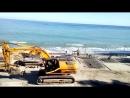Реконструкция набережной пляжа с созданием многофункционального комплекса по обслуживанию Приморского пляжа в городе Ялте