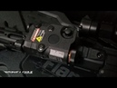 FMA AN PEQ 15 Red Dot Laser with LED and IR Lens Upgrade Version