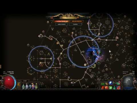 Path of Exile Shaper Deletion DPS 10mil Zombie Skeleton Summoner Build