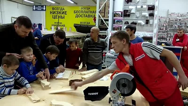 ЧудоНаЛадони- Добрый Тобольск- мастер - класс ведёт Алексей Загваздин