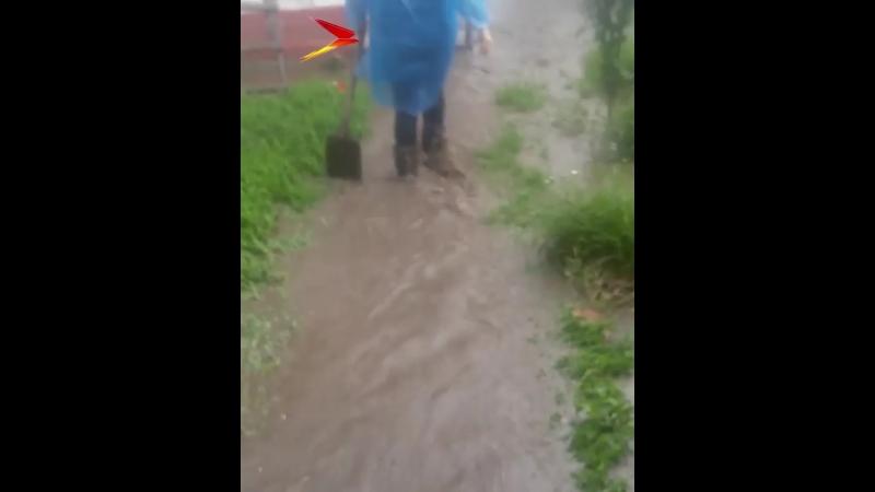 [OssVes] Селение Цалык в Северной Осетии затопило в третий раз
