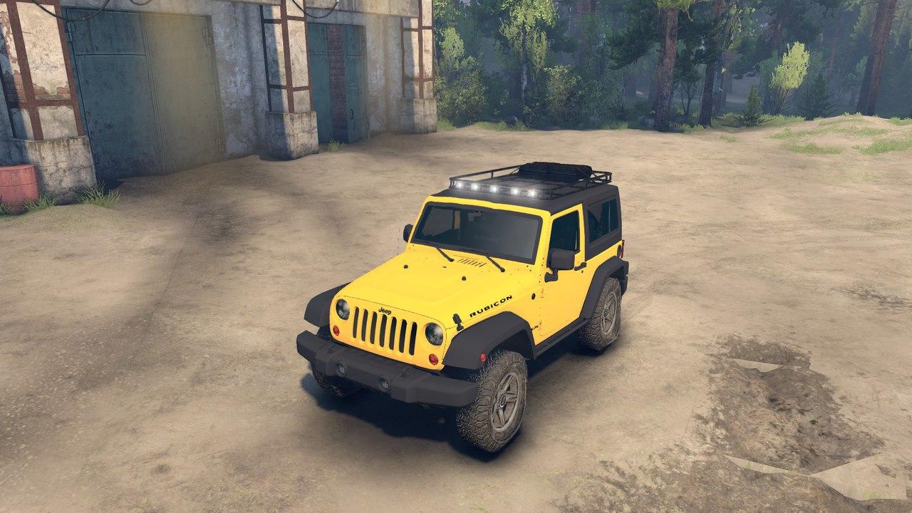 Jeep Rubicon для версии игры от 13.04.15 для Spintires - Скриншот 2