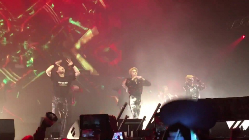 [VK][180620] MONSTA X - Rush @ The 2nd World Tour The Connect in Amsterdam