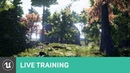 Getting Started with Landscapes Materials and Foliage | Live Training | Unreal Engine