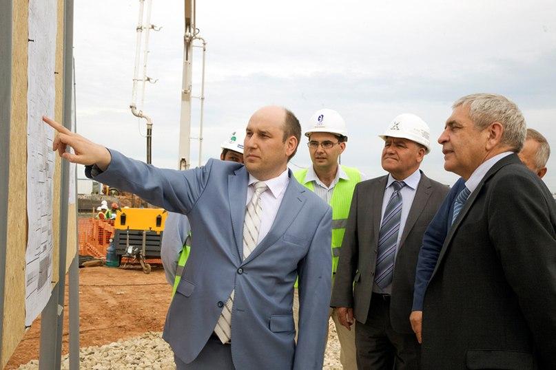«Таиф-НК» посетил замминистра финансов РФ Сергей Шаталов