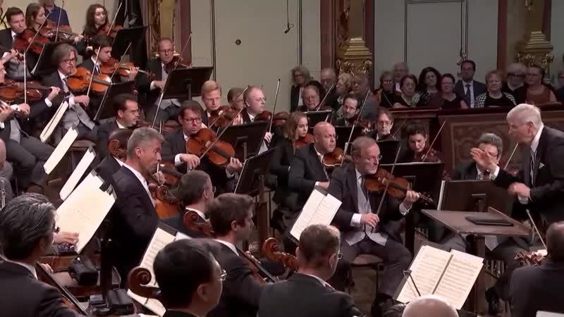 Симфонии Бервальда и Дворжака Венский филармонический оркестр дирижёр Герберт Блумстедт 2018
